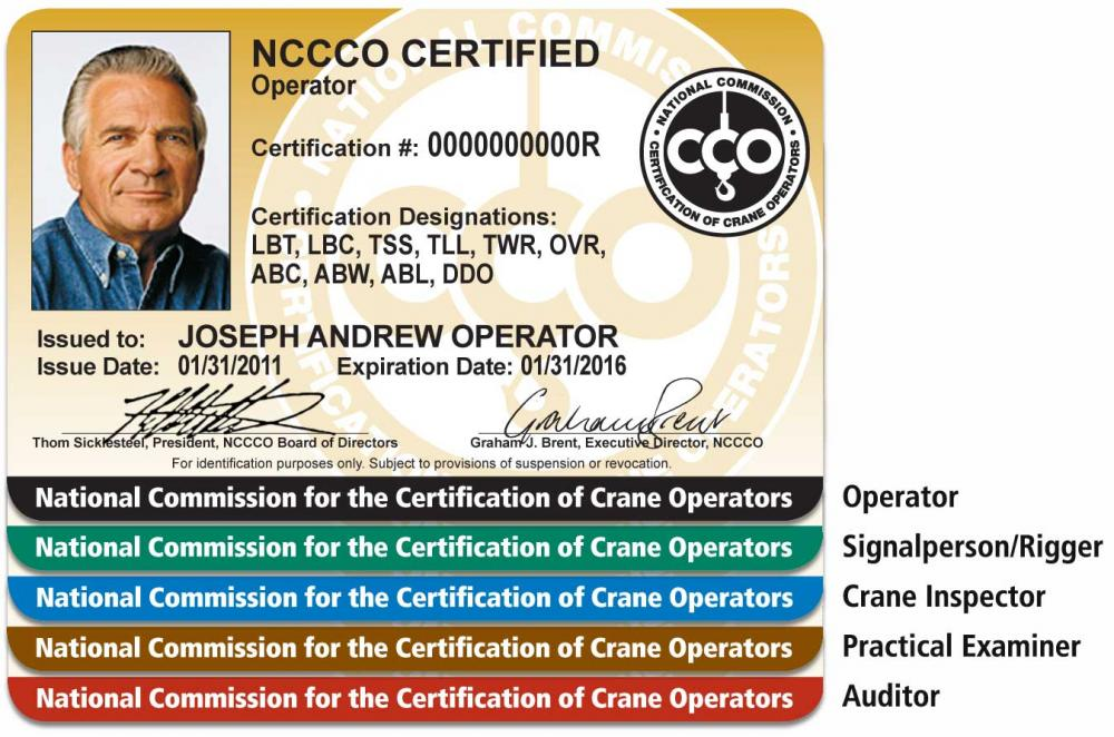 Nccco Makes Changes To Certification Cards Lift And Access