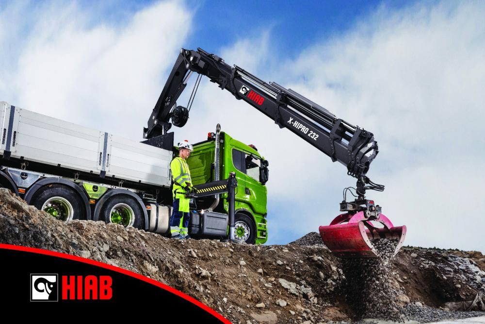 Hiab Introduces The Hiab X Hipro 232 At 2017 Icuee Lift
