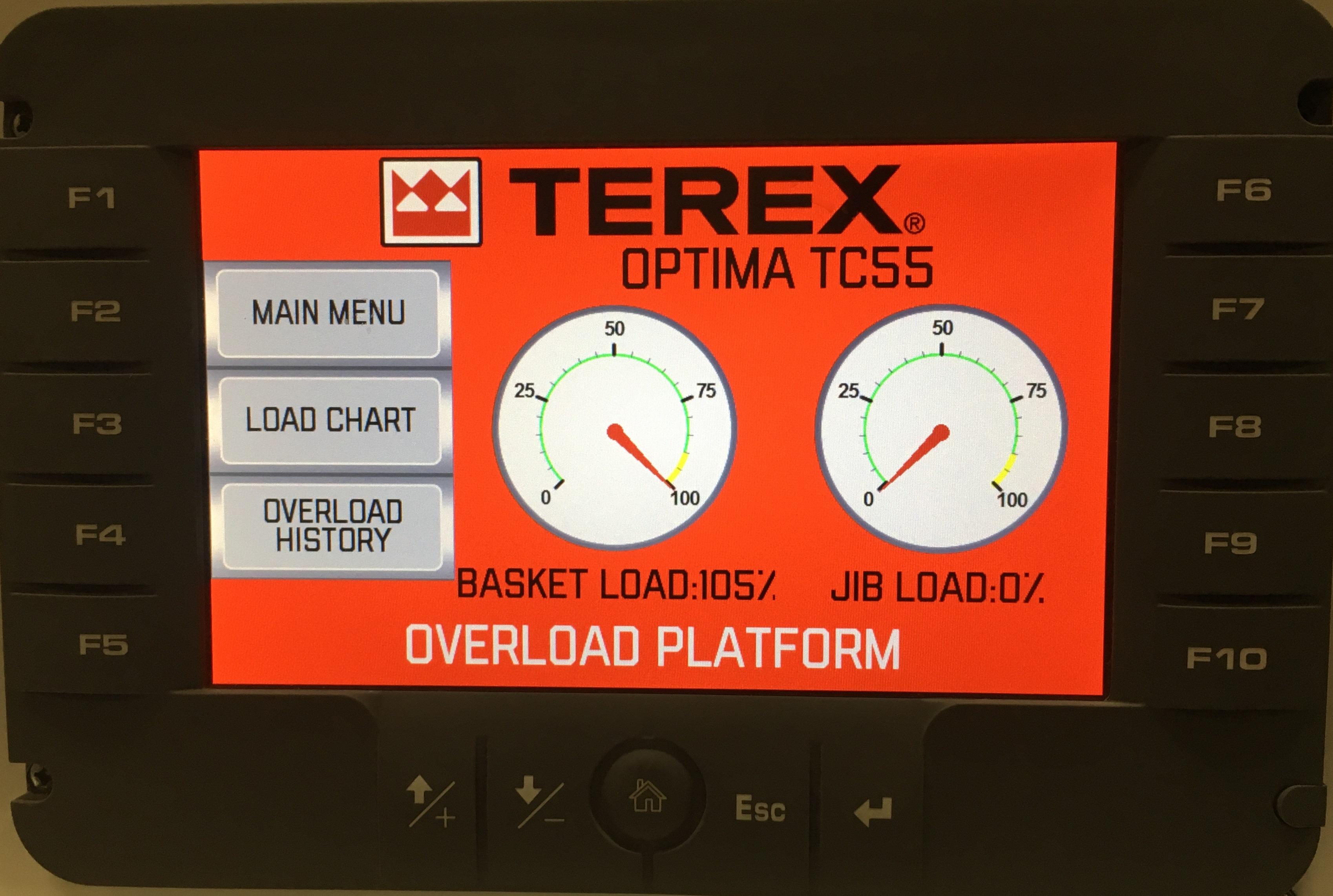 Terex Load Alert
