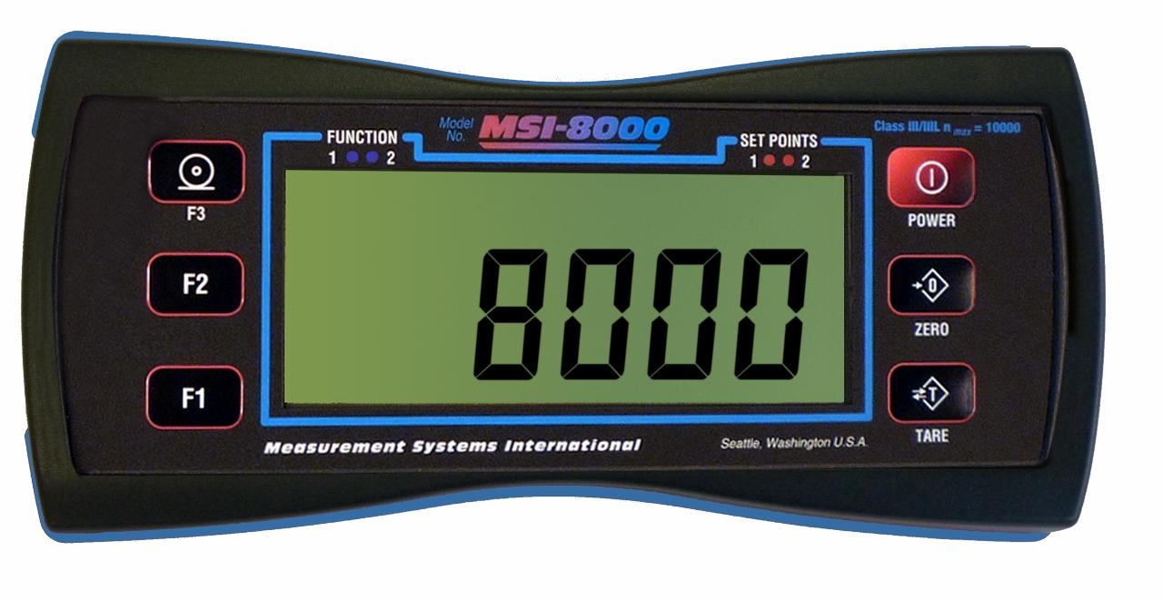 msi-8000 display