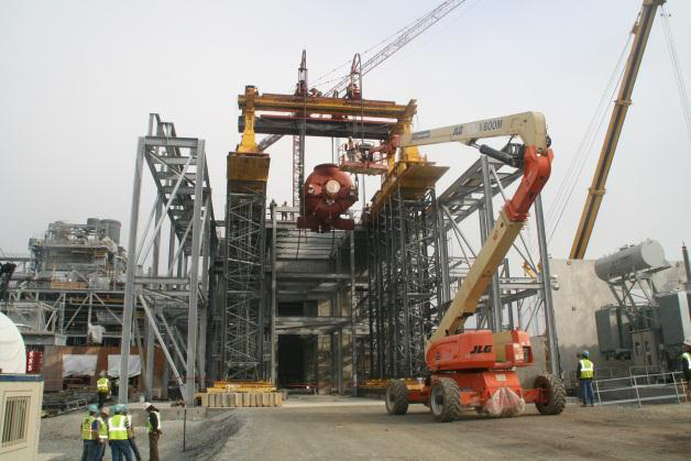 crane rental lift with boom lift