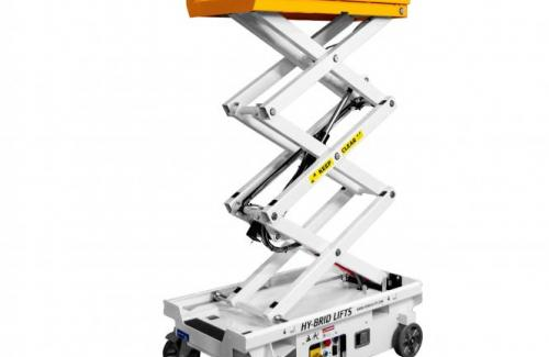 Custom Equipment Hy-Brid PA 1030 scissor lift