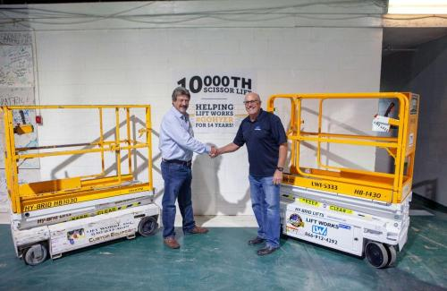 Custom Equipment 10,000th Hy-Brid Lift