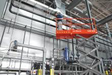 photo of scissor lift