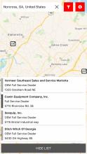 Service Locator App