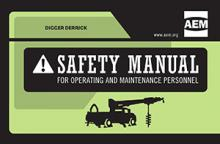 Digger Derrick Safety Manual