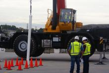 Houston Crane Operators Compete for Seats in National
