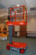 skyjack sj12 powered access