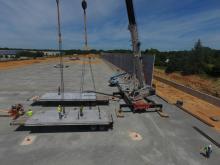 link-belt all-terrain crane