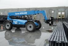 Photo of Genie's new GTH-636 telehandler