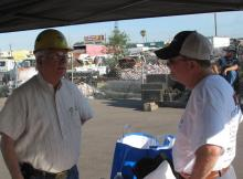 Jim Curtis and Jameson Headley