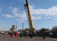crane operator rodeo