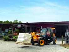 JCB telehandler production change