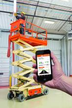 Battery Monitoring System from JLG