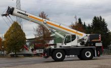 liebherr rough terrain crane