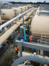 mighty crane pipeline project
