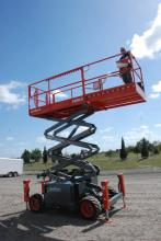 Rough Crowd: Compact RT Scissor Lifts in the 59- to 69-in  Wide
