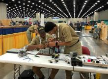 Two JCB apprentices won first place in the mechatronics division at the recent SkillsUSA national championships.