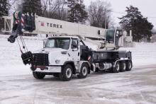 terex boom truck
