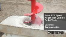 Terex Auger Tool