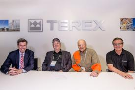 Terex and Davis photo
