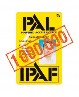 1 millionth PAL card