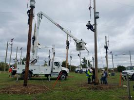 Optima TC55 aerial devices will be used in the Hurtman Rescue Competition. (Photo from 2018)