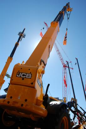 JCB Reveals Telehandler Advancements at ConExpo