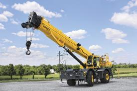 Grove Introduces New 100- and 88-ton Rough Terrain Cranes