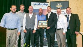 JCB environmental award pic
