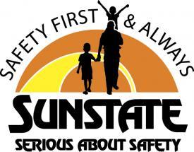 Sunstate safety logo
