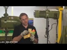 Troubleshooting an Electric Chain Hoist