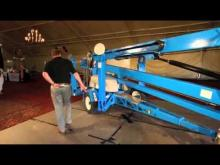 Product Review: Genie TZ-50 Trailer-Mounted Boom Lift Part 1